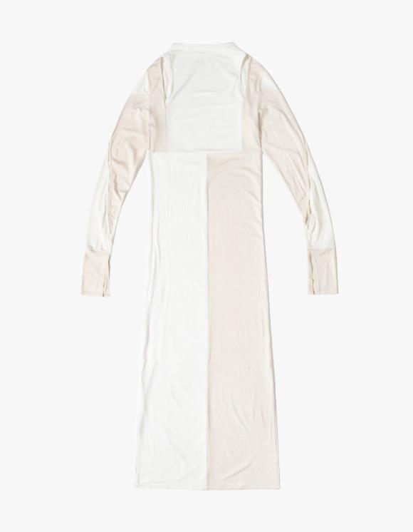 Kyo French Tile Jersey Dress  -Ivory | HEIGHTS. | 하이츠 온라인 스토어