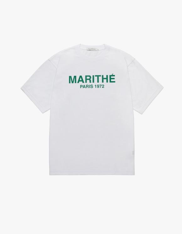 Marith+Franois Girbaud Marithe Regular Marithe Tee White/Green | HEIGHTS. | 하이츠 온라인 스토어