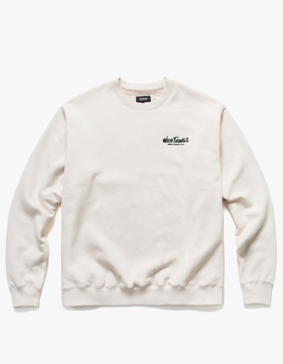 Wild Things Side Logo Crewneck - Natural | HEIGHTS. | International Store