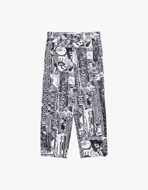 Fucking Awesome Acupuncture Work Pant - Black/White | HEIGHTS. | 하이츠 온라인 스토어