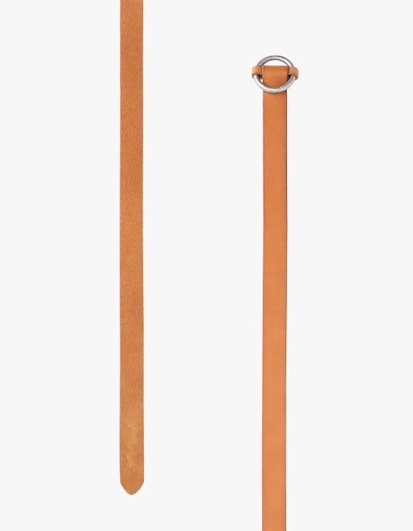 yeseyesee Leather Split Long Belt - Tan | HEIGHTS. | International Store