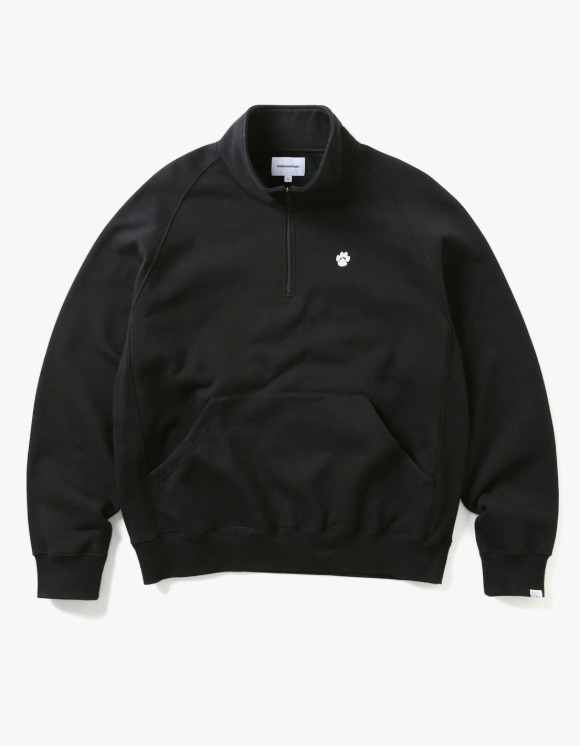 thisisneverthat PAW Half Zip Pullover - Black | HEIGHTS. | International Store