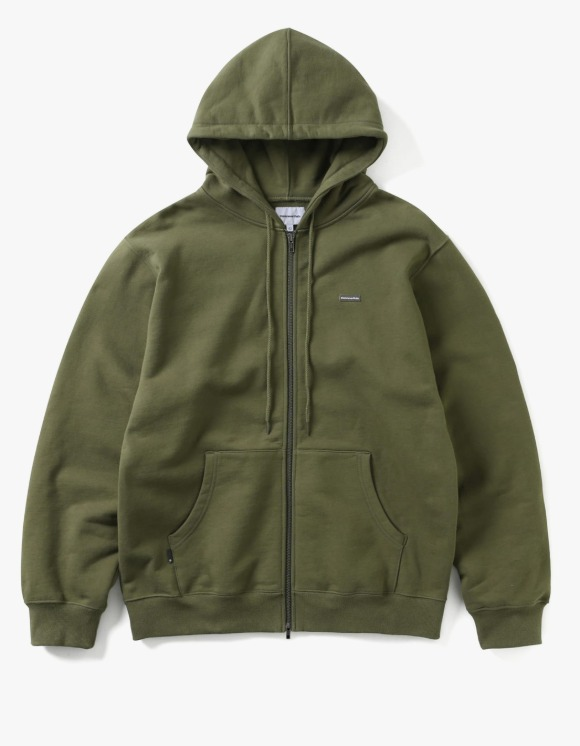 thisisneverthat T.N.T. Classic HDP Zip Up Sweat - Olive   HEIGHTS.   하이츠 온라인 스토어