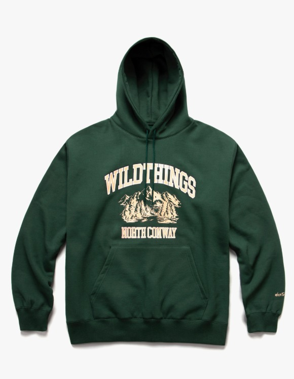 Wild Things Lake College Pullover Hoodie - Forest Green | HEIGHTS. | 하이츠 온라인 스토어