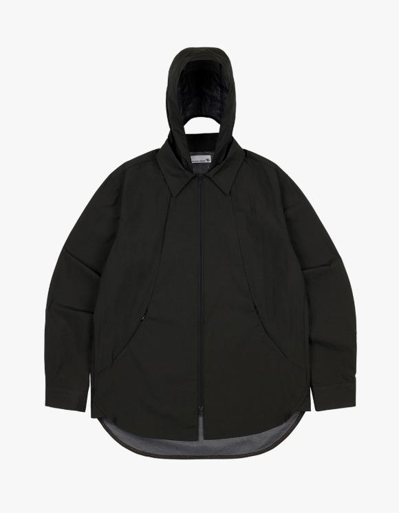 San San [10월 6일 발송 예정] 21FW Shirt Jacket - Black | HEIGHTS. | International Store