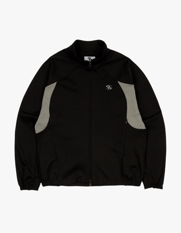 San San [9월 30일 발송 예정] 21FW Track Jacket - Black | HEIGHTS. | International Store