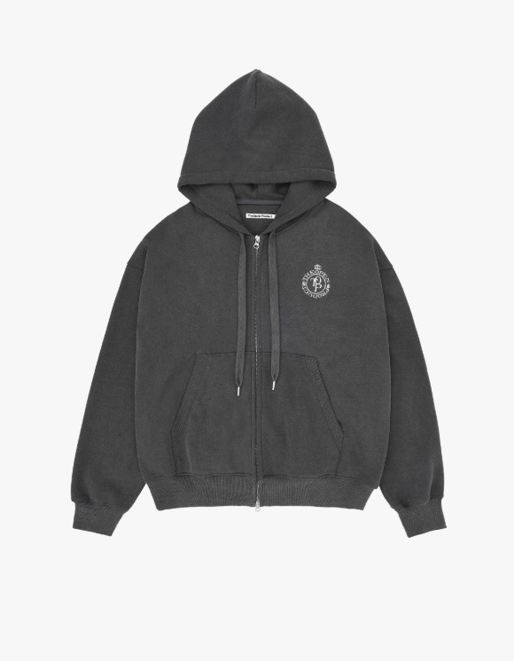 TheOpen Product Two Way Zip Hoodie Sweat Jacket - Black | HEIGHTS. | 하이츠 온라인 스토어