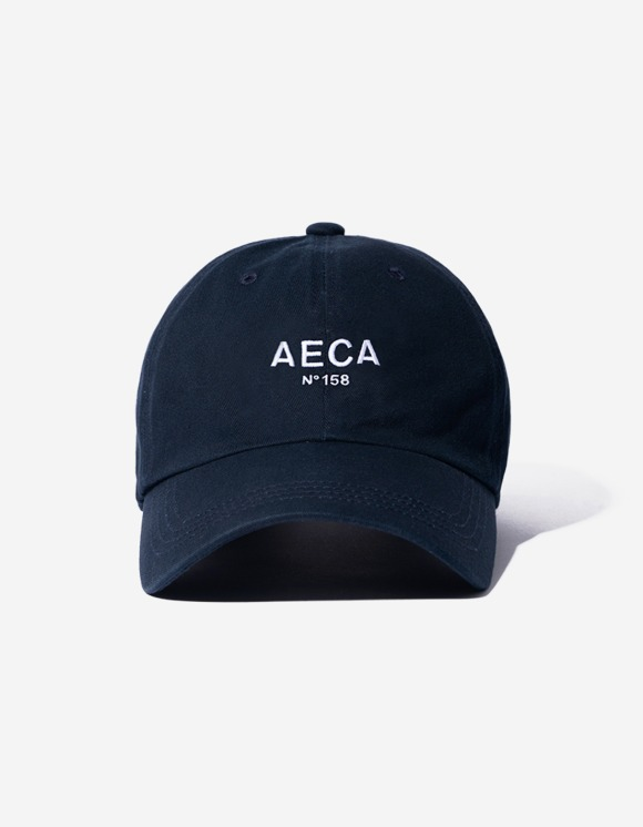 AECA WHITE Aeca Big Logo Cap - Navy | HEIGHTS. | 하이츠 온라인 스토어