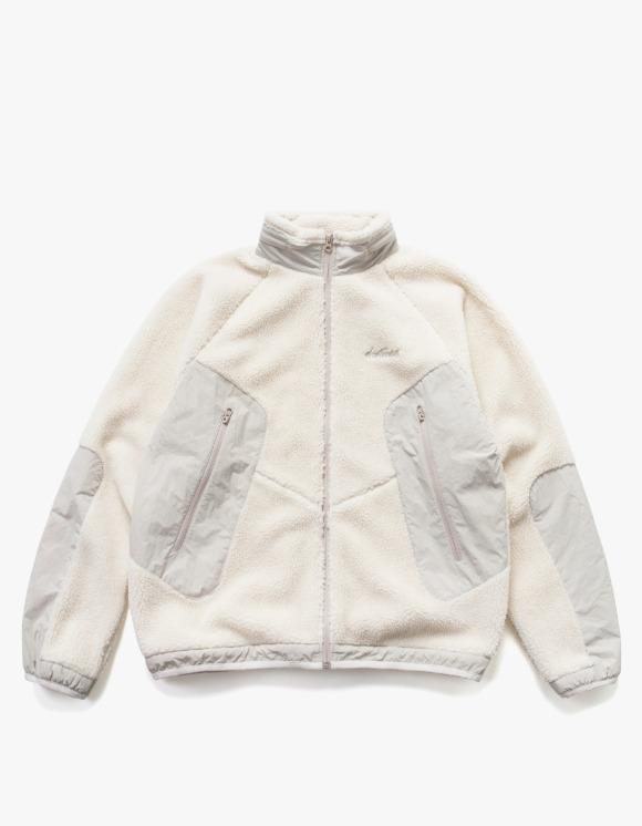 Wild Things [10월 20일 예약발송] Fleece Jacket - Ivory | HEIGHTS. | 하이츠 온라인 스토어