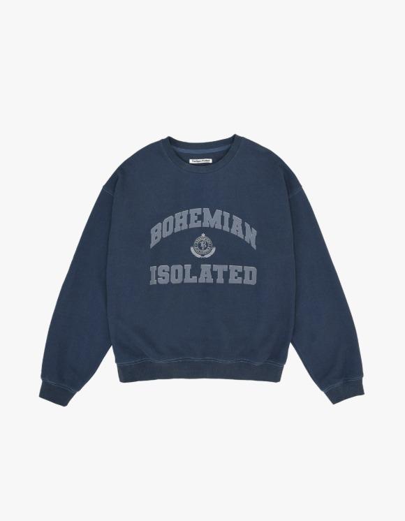 TheOpen Product Heritage Lettering Sweatshirt - Navy | HEIGHTS. | 하이츠 온라인 스토어