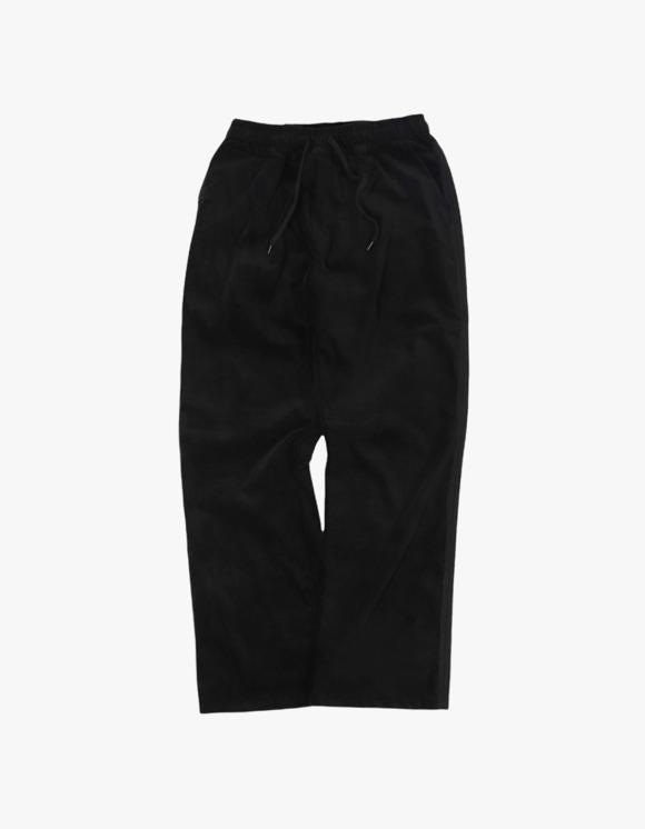 Kruchi lab Velvet Easy Pants - Black | HEIGHTS. | 하이츠 온라인 스토어