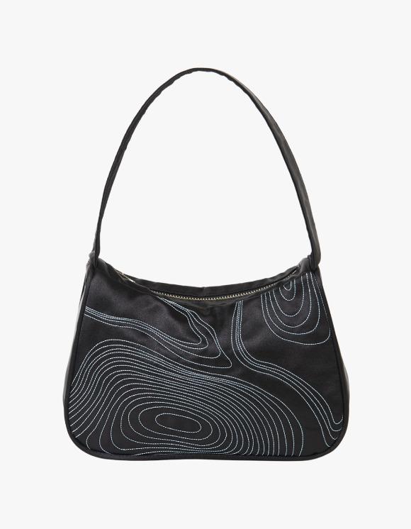 Enzo Blues Annual Ring Shoulder Bag  - Black | HEIGHTS. | 하이츠 온라인 스토어