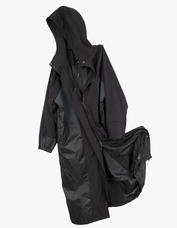 Ojos Maxi Safari Coat - Black | HEIGHTS. | 하이츠 온라인 스토어