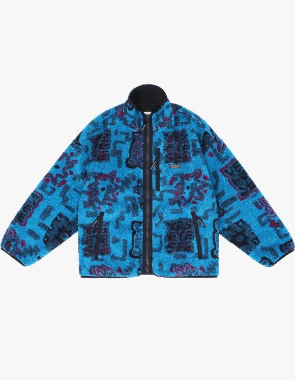 yeseyesee Y.E.S Boa Fleece Bonded Jacket - Multi | HEIGHTS. | 하이츠 온라인 스토어