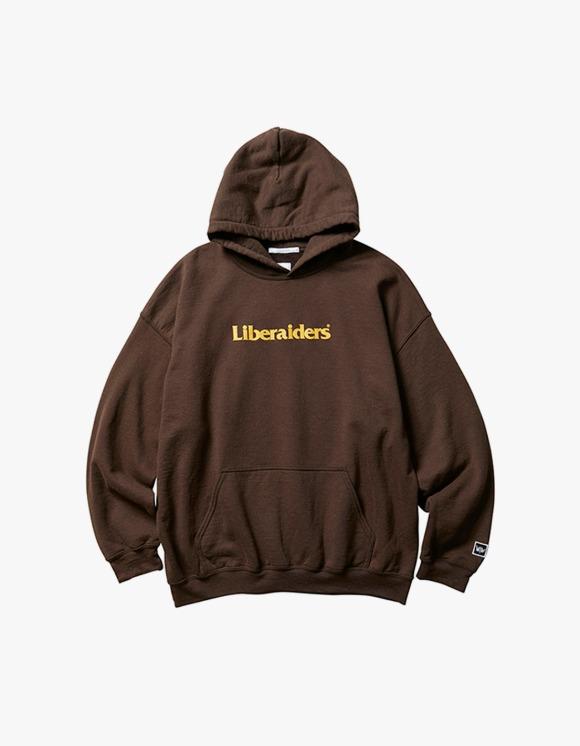 Liberaiders Og Logo Pullover Hoodie - Brown | HEIGHTS. | 하이츠 온라인 스토어
