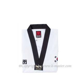 [무토]MOOTO BS4 국기원 시범단도복(검정깃)  [K]MOOTO BS4 KUKKIWON DEMO TEAM Uniform[Black Neck]