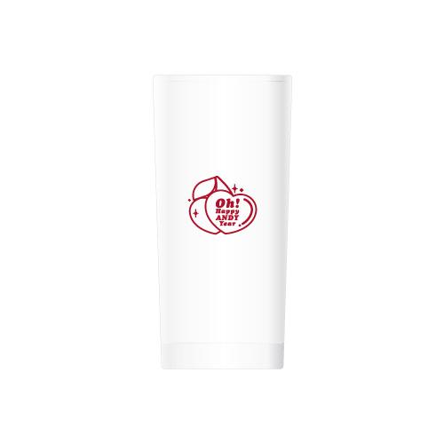 [예약 판매 - 현장 수령] 앤디(ANDY) - 해피 앤디 유리컵(Happy ANDY Glass)케이팝스토어(kpop store)