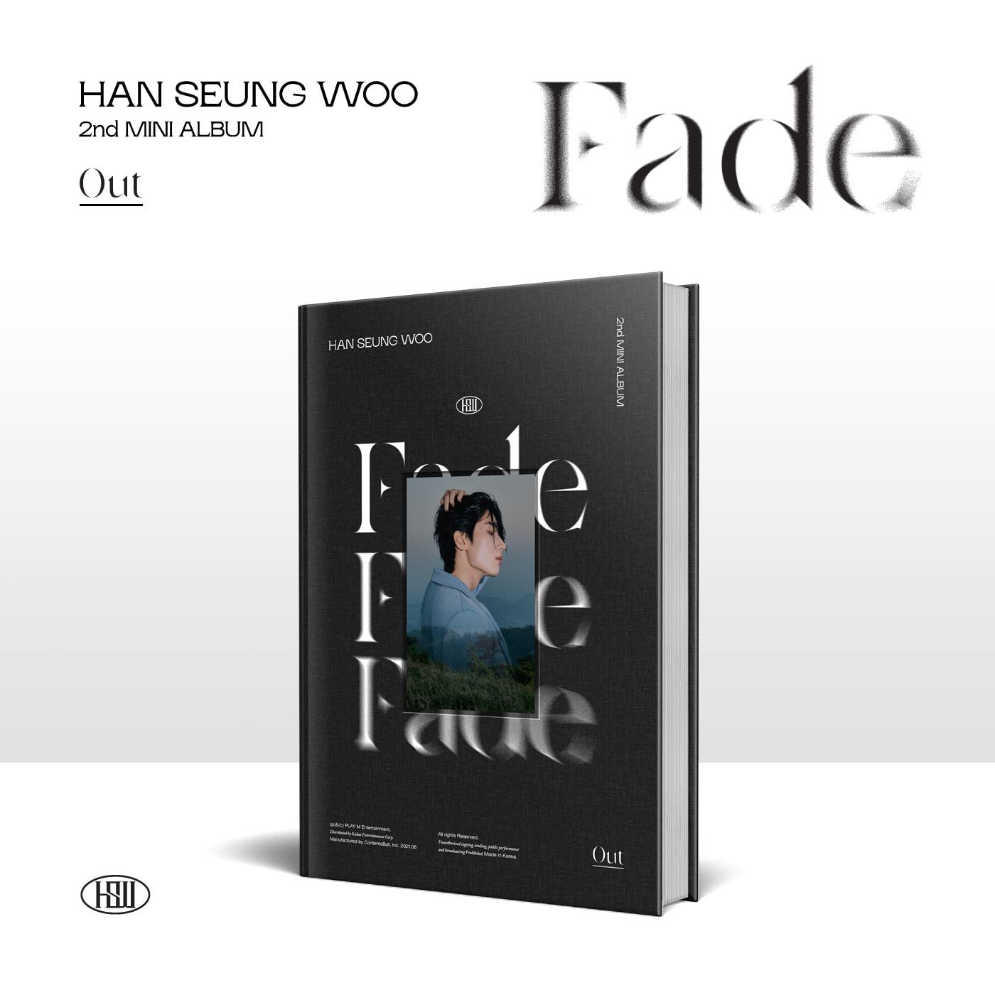 한승우(HAN SEUNG WOO) - 미니 2집 [Fade] (Out ver.)케이팝스토어(kpop store)