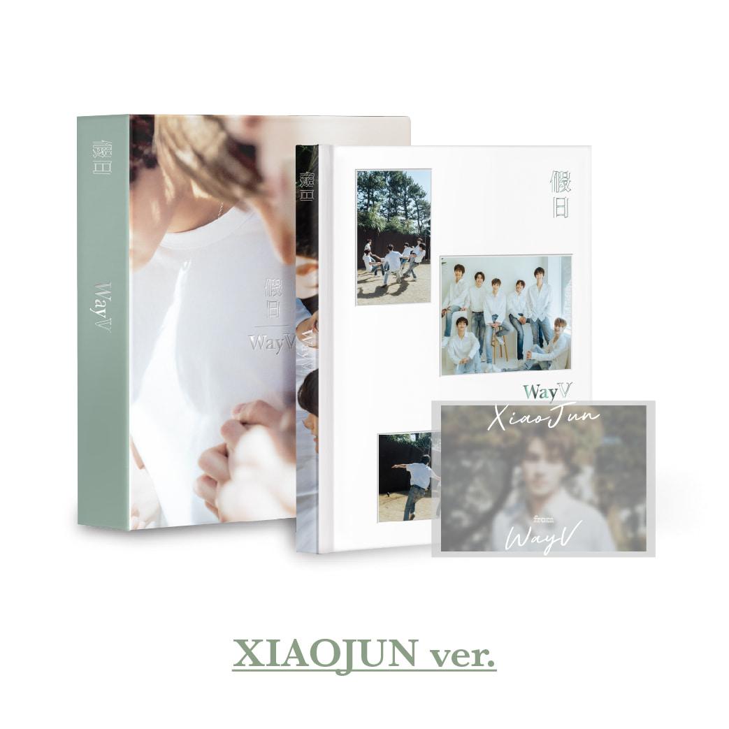 [예약 판매] WayV 화보집 [假日] – XIAOJUN Ver.케이팝스토어(kpop store)