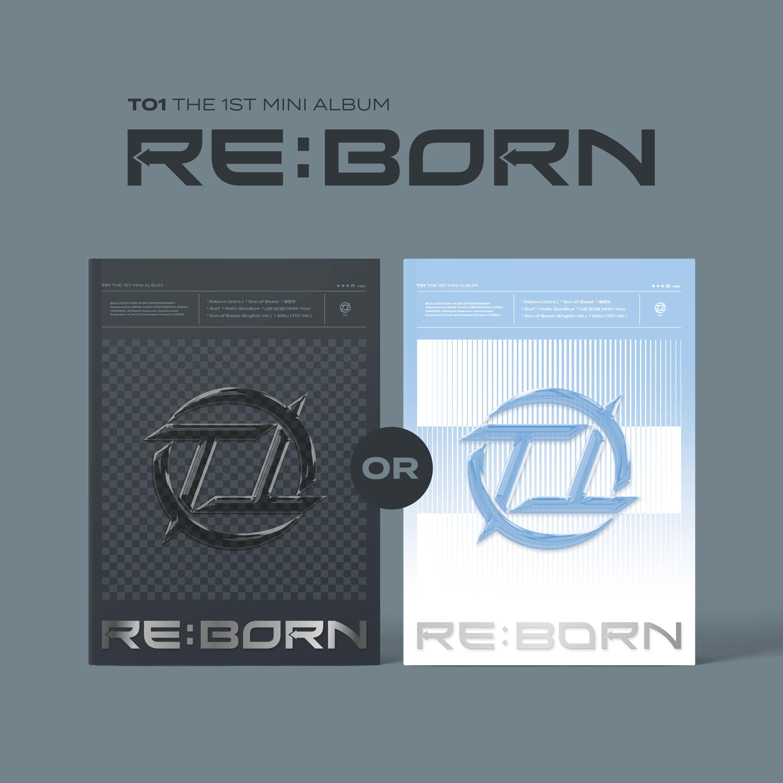 티오원(TO1) - 1st Mini Album [RE:BORN] (Random ver.)케이팝스토어(kpop store)