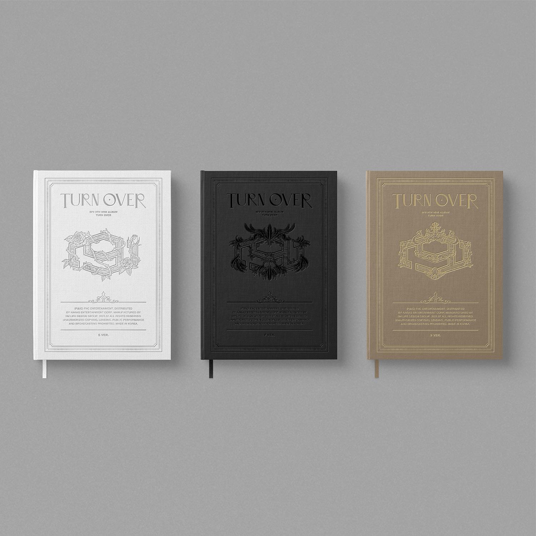 SF9(에스에프나인) - 9th Mini Album [TURN OVER] (Random ver.)케이팝스토어(kpop store)
