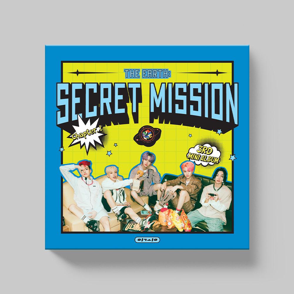 MCND - 미니 3집 [THE EARTH: SECRET MISSION Chapter.1] (야광(REASON) Ver.)케이팝스토어(kpop store)