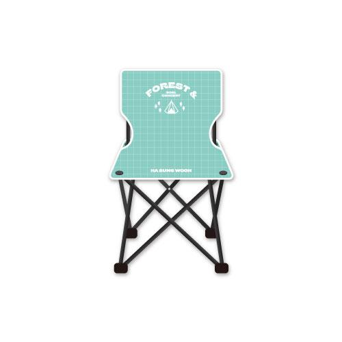 [예약 판매] 하성운(HA SUNG WOON) - 캠핑 의자(CAMPING CHAIR)케이팝스토어(kpop store)