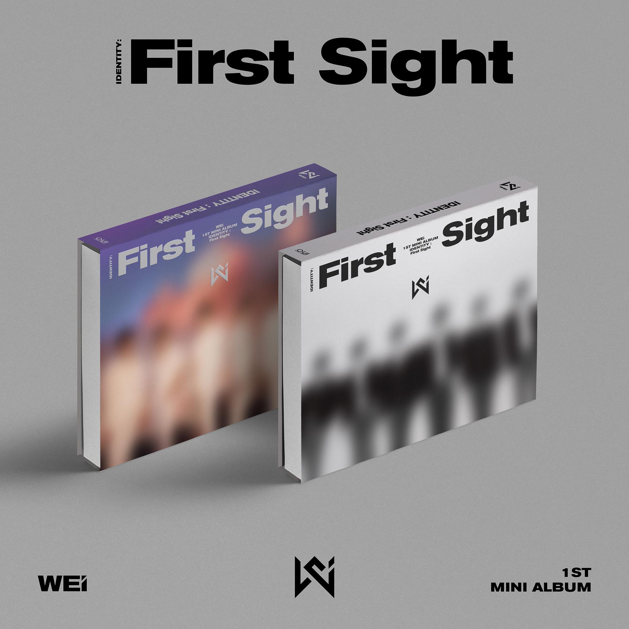 WEi - Mini Album Vol. 1 [IDENTITY : First Sight] (WE Ver. + i Ver.)케이팝스토어(kpop store)