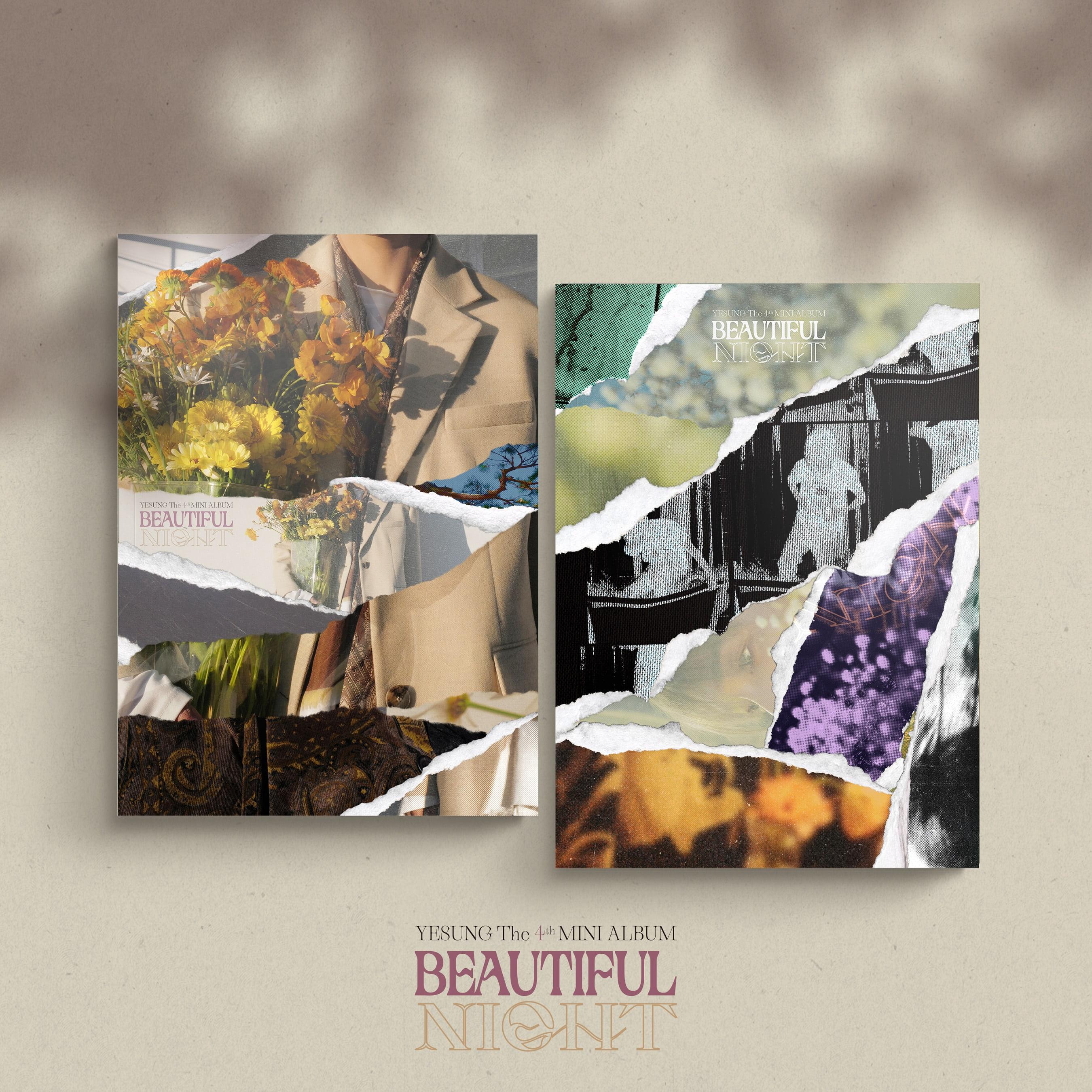 예성(YESUNG) - 4th Mini Album [Beautiful Night] (Photo Book Ver.) (Random Ver.)케이팝스토어(kpop store)