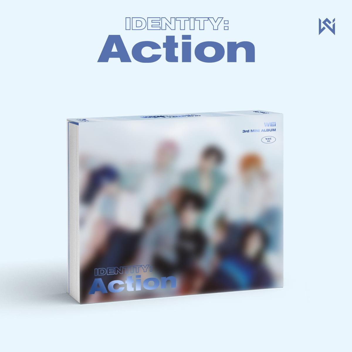 위아이(WEi) - 3rd Mini Album [IDENTITY : Action] (WAVE ver.)케이팝스토어(kpop store)