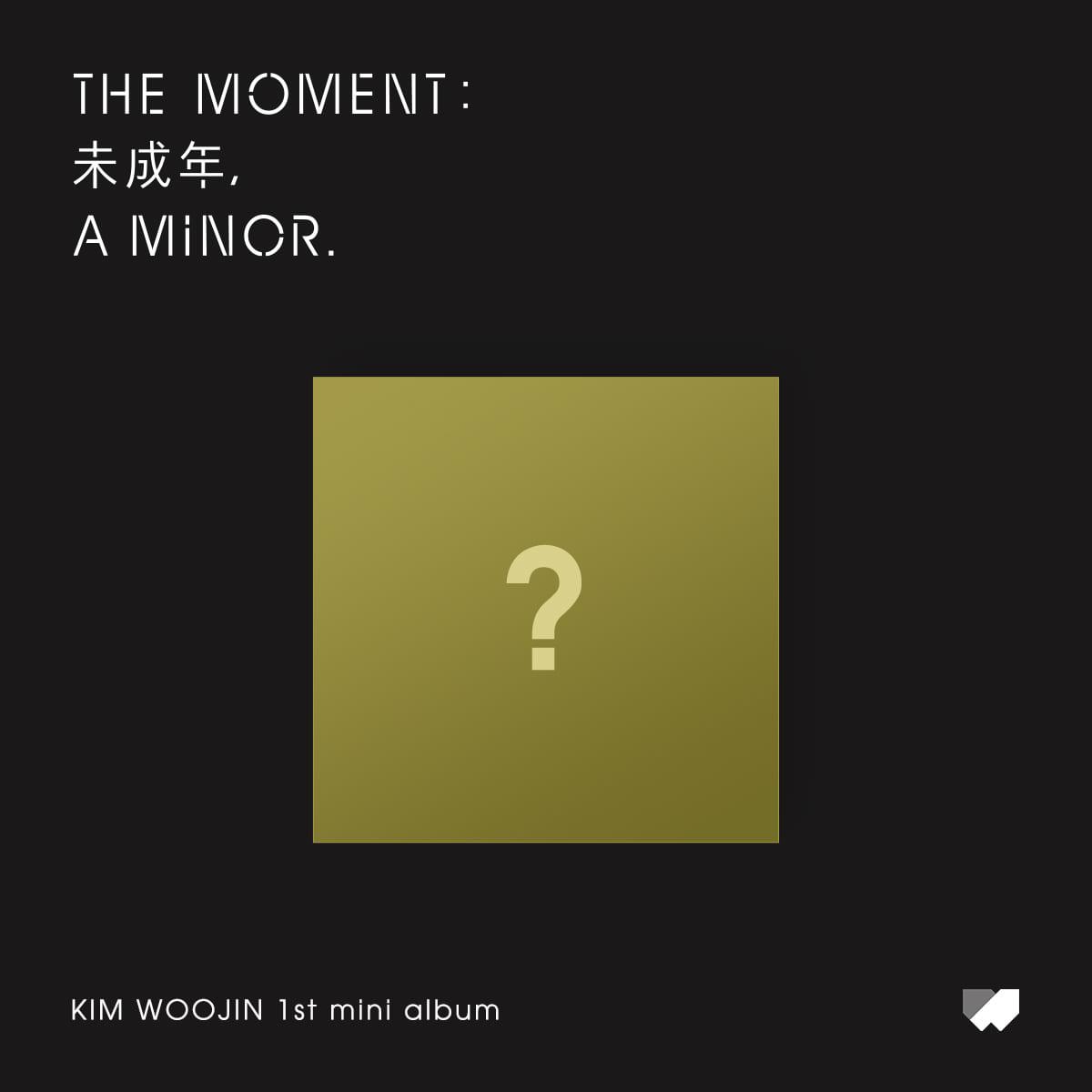 김우진(KIM WOO JIN) - 1st Mini Album [The moment : 未成年, a minor.] (A Ver.)케이팝스토어(kpop store)