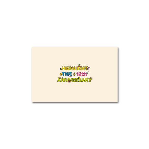 [중국어몰] [PRE-ORDER] ★VIDEO CALL EVENT★ 하이라이트(HIGHLIGHT) - HIGHLIGHT THE 12th ANNIVERSARY LIGHT PARCEL케이팝스토어(kpop store)