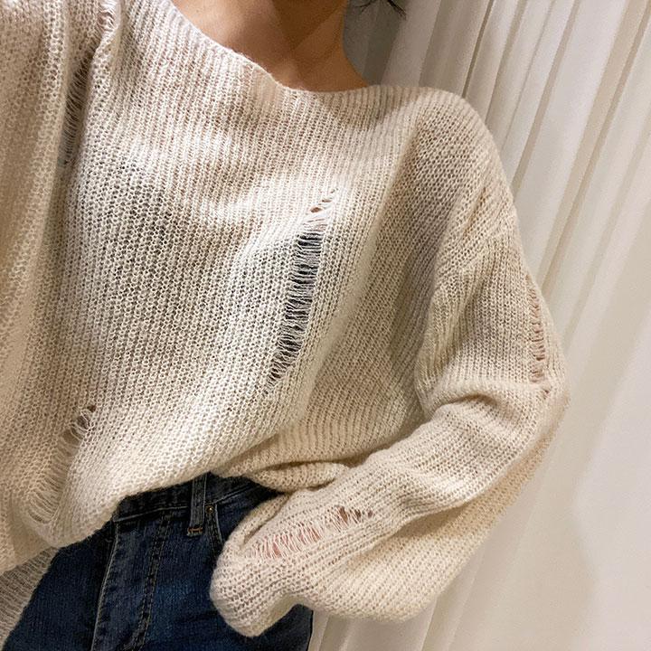 울데미지루즈니트-knit