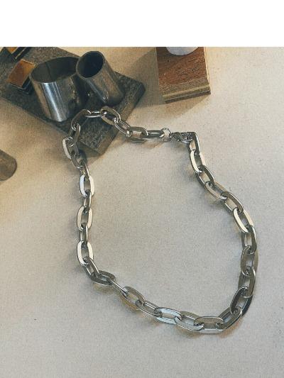 볼드매트체인-necklace