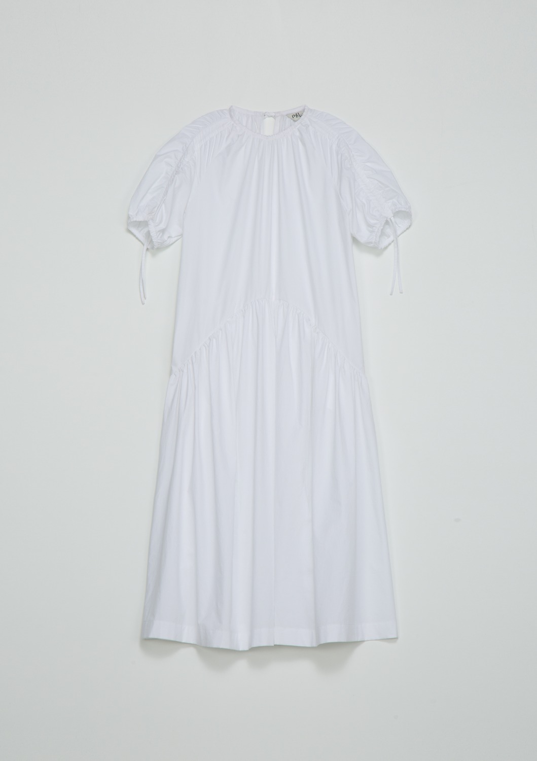 Belle Lucing Dress - Optic White Cotton
