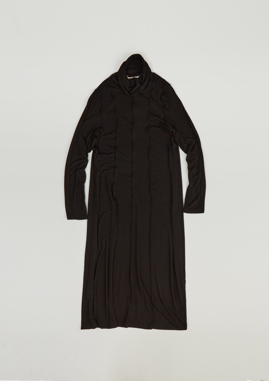 Paix jersey Long Dress - Black