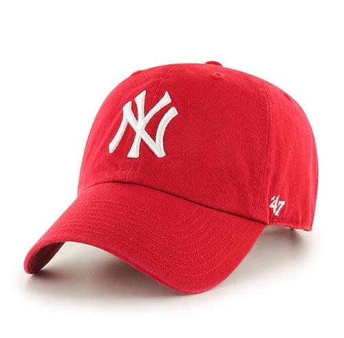 NY yankees red cap  47BRAND