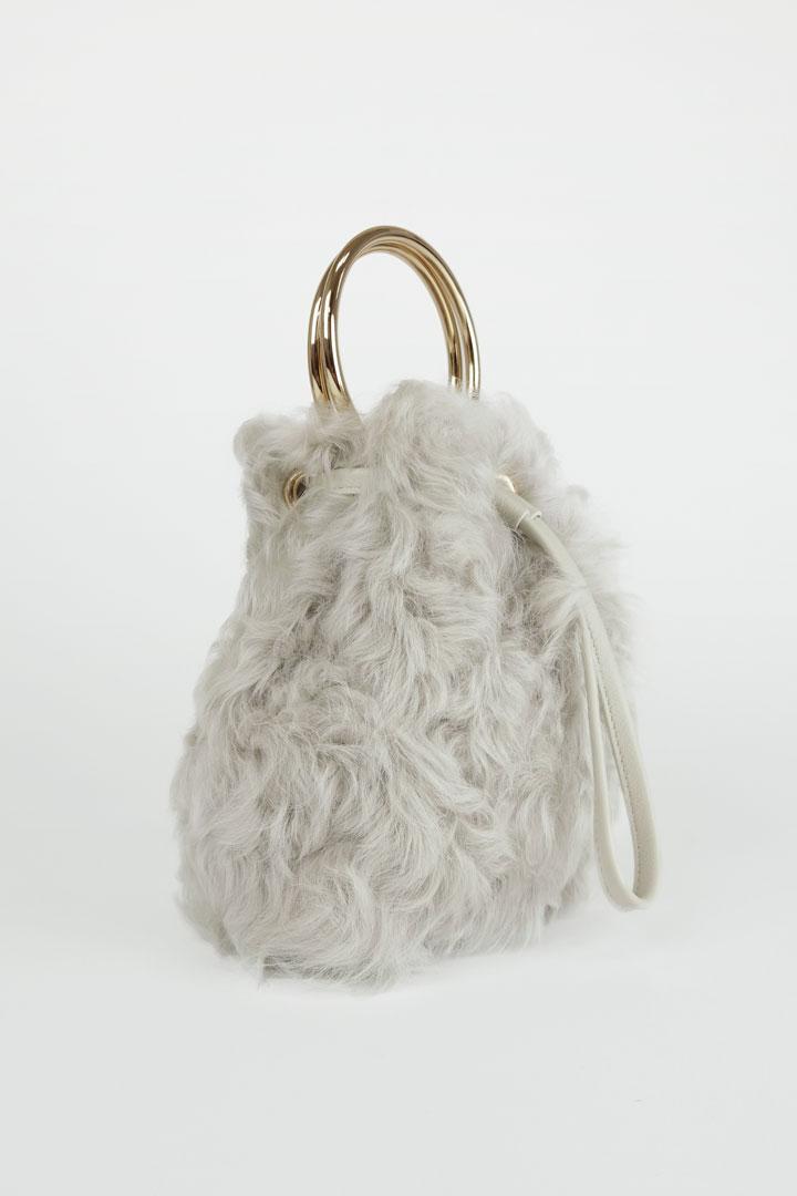 Kalgan Lamb Bucket Mini Bag