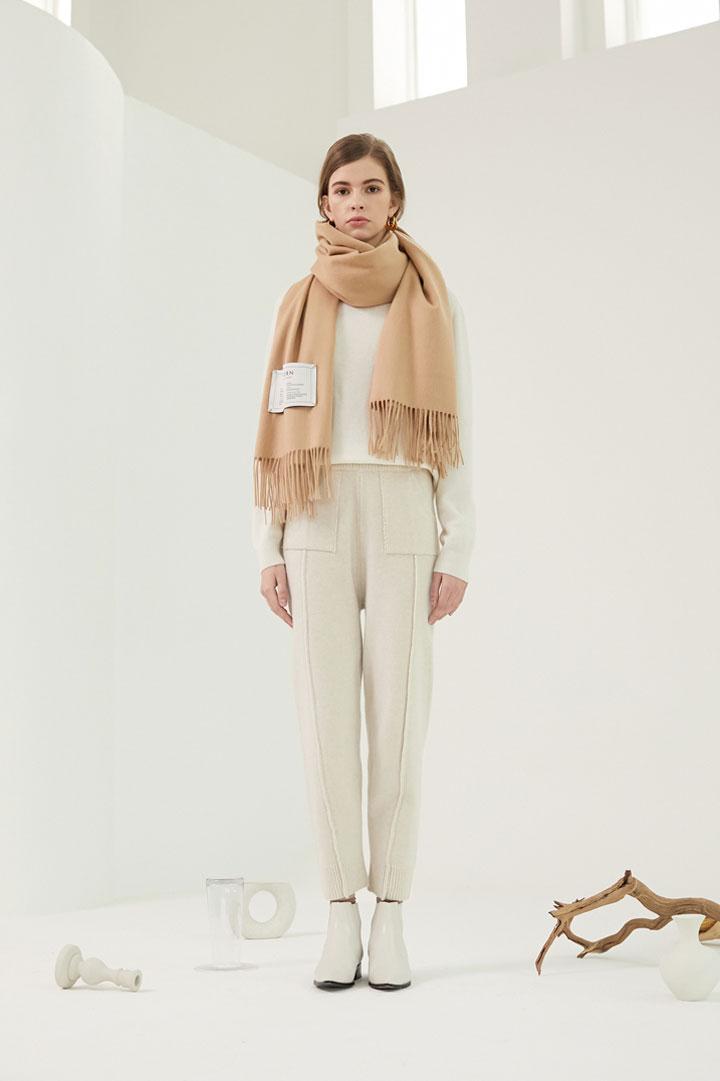 Anderson Wool-Blend Knit Pants