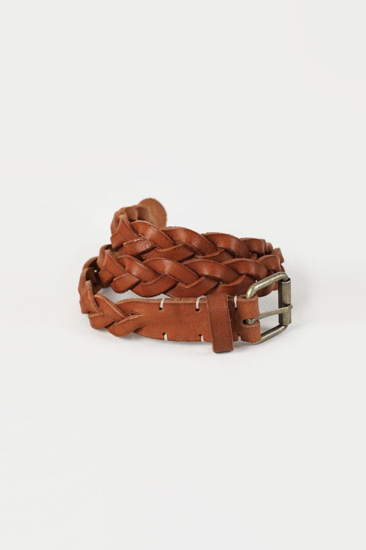 Numero053: Twisted Leather Belt