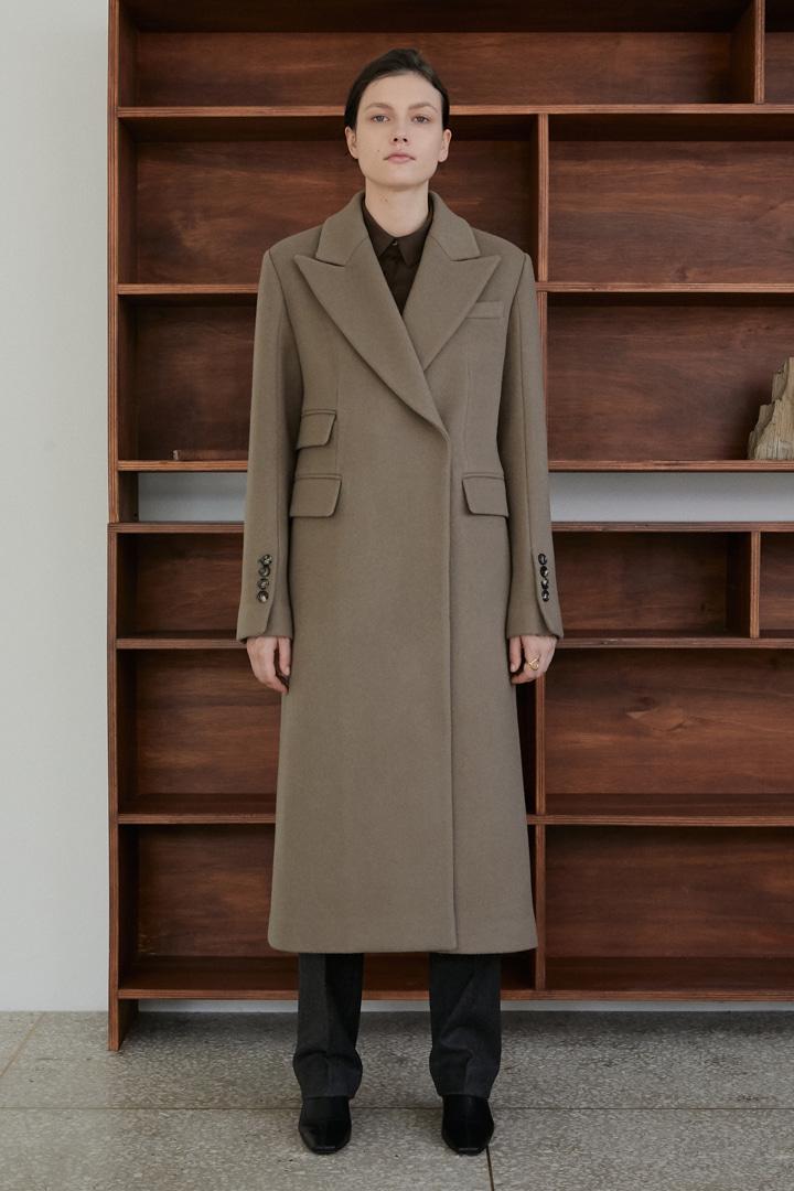 Numero 059: Cashmere Blended Coat (2 colors)