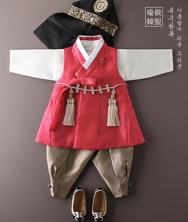 전통예복'찬란'다홍빛