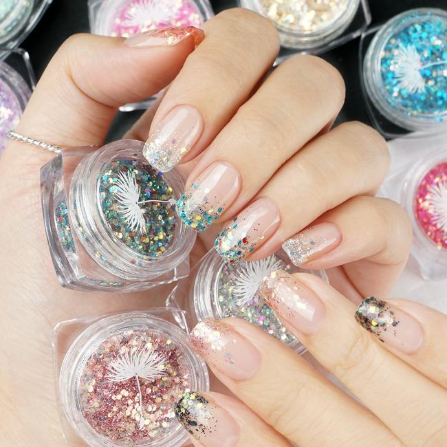 Korean [Nail Glitter]Jewel Glitter