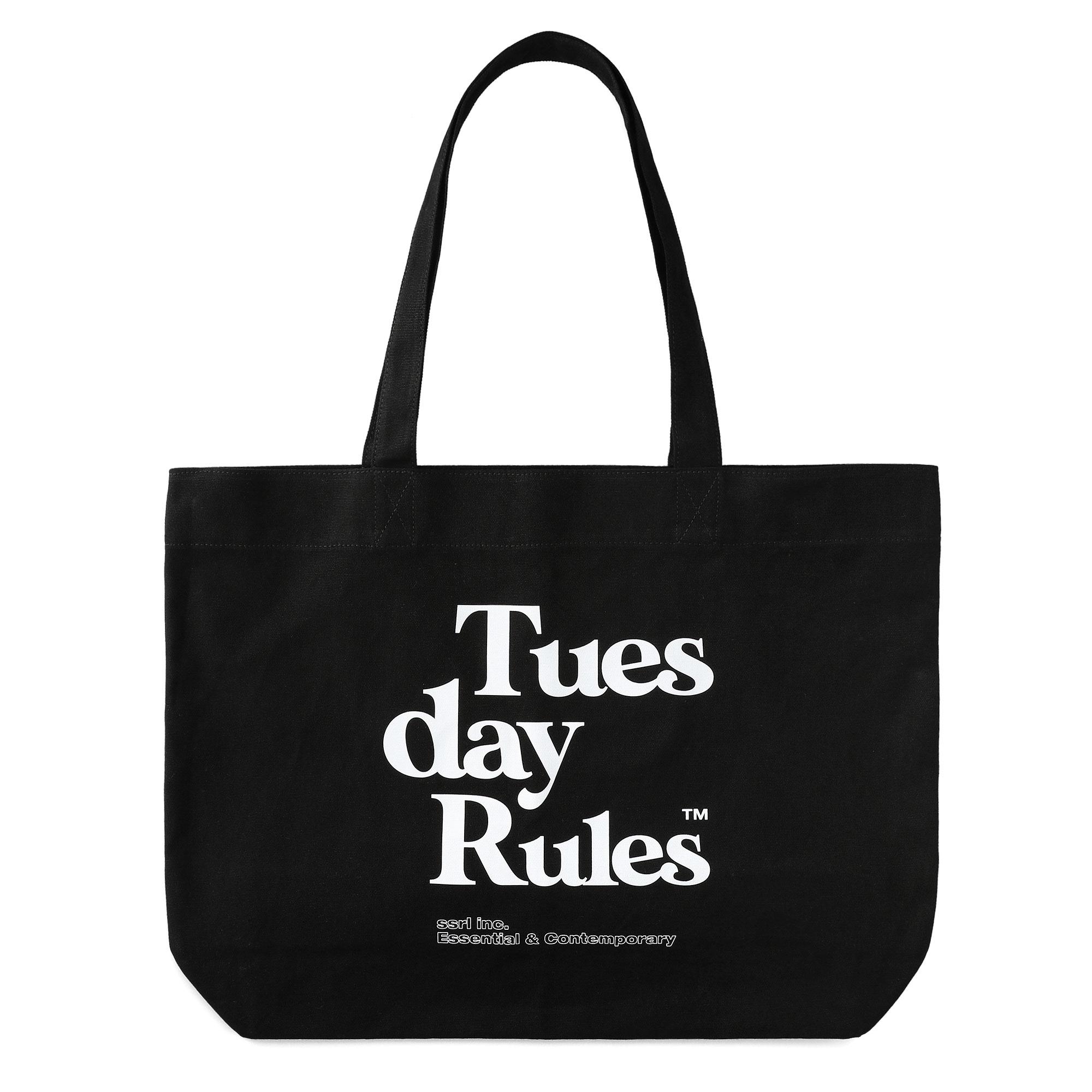 TDR tote bag / black