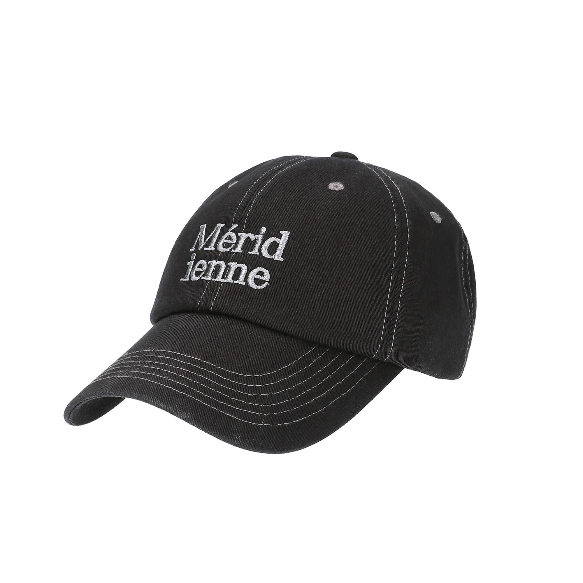 meridienne ball cap / black