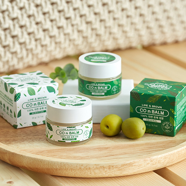[DAYCELL] LIME & BROWN Co&Balm 20g / 2 Types