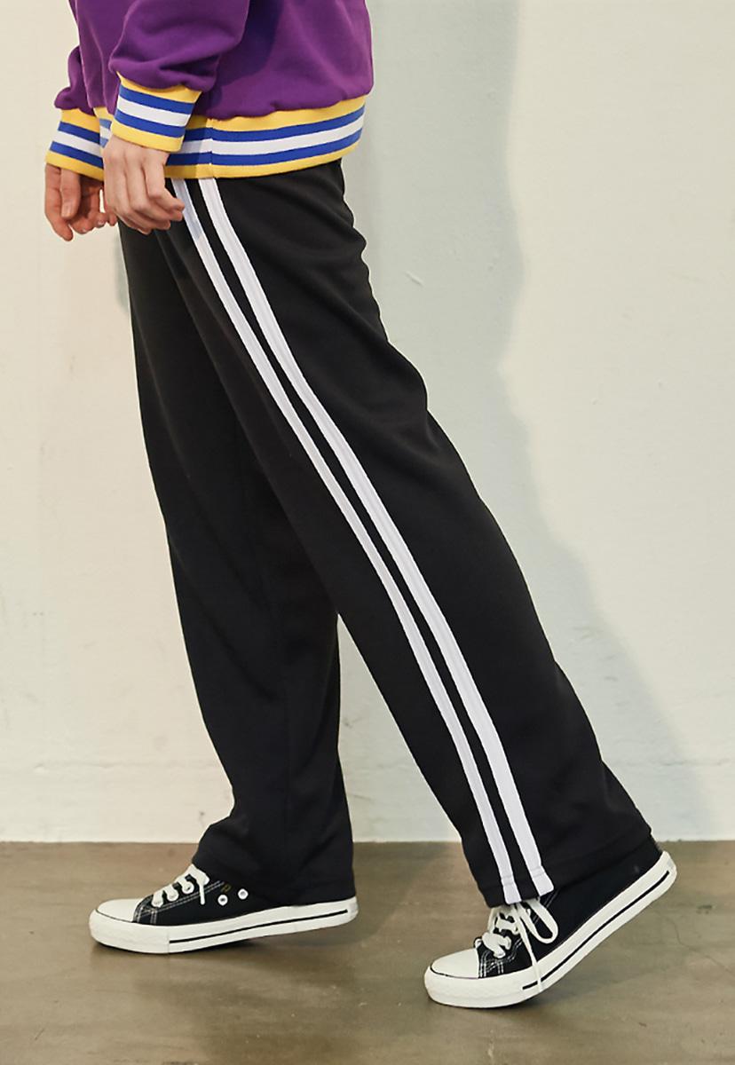 [10월8일 예약배송] [크럼프] Crump two line track pants(CP0050)