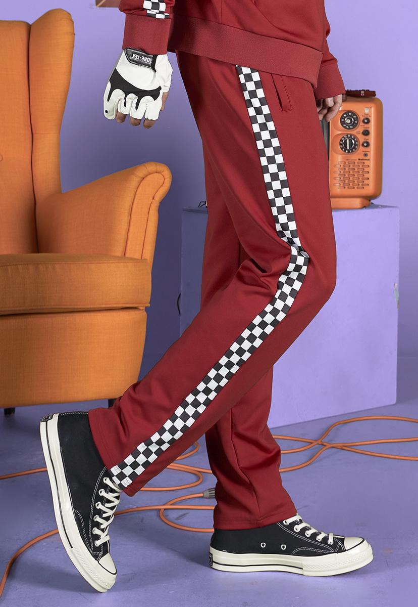 [크럼프] Crump checkerboard track pants (CP0132-1)