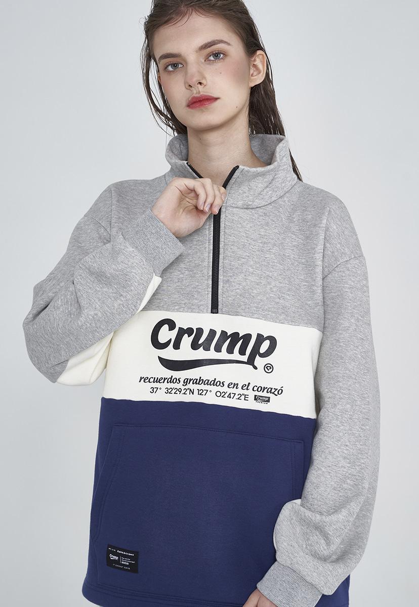 [크럼프] fiero half zipup (CT0286g)