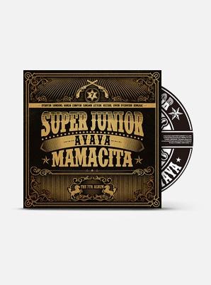 SUPER JUNIOR The 7th Album - MAMACITA (A Ver.)